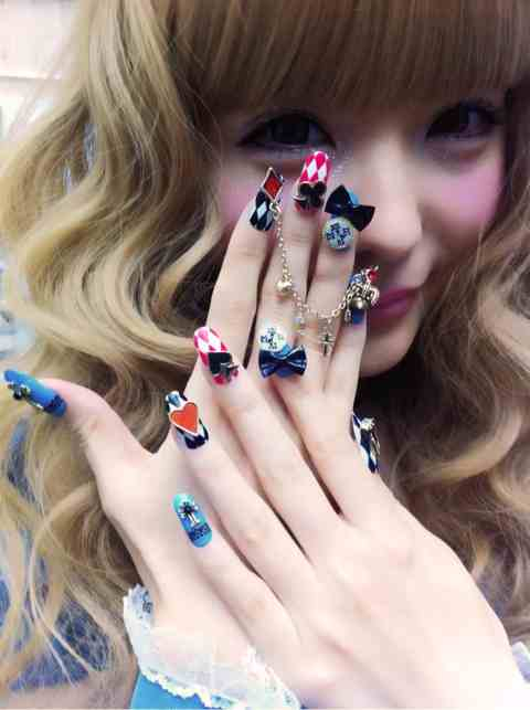 Nail inspo 3d japanese nail art michelle phan michelle phan nail inspo 3d japanese nail art prinsesfo Image collections